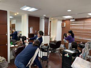 熊本美容師ブランクカット講習会パート1
