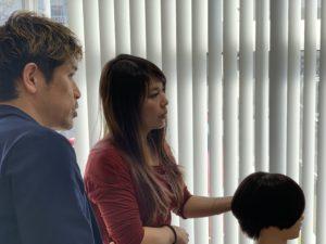 熊本美容室ホワイトストーンカット講習会